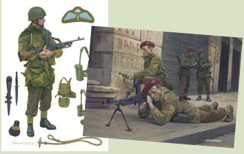 Military art paintings by Graham Turner