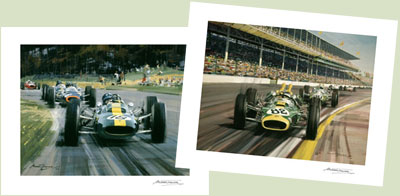 NEW JIM CLARK PRINTS
