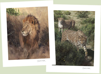 WILDLIFE ART by Graham Turner