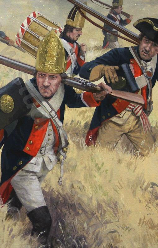 Battle Of White Plains Painting