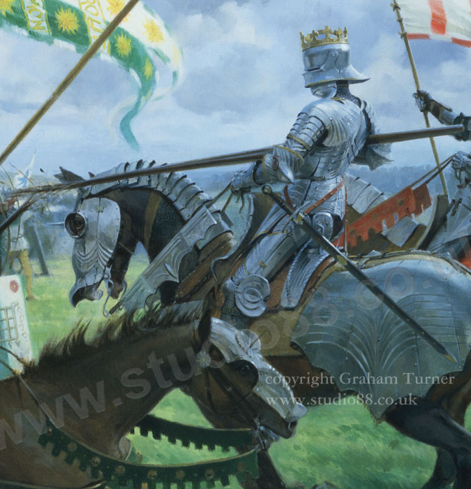 Studio 88 Limited Detail From The Battle Of Bosworth