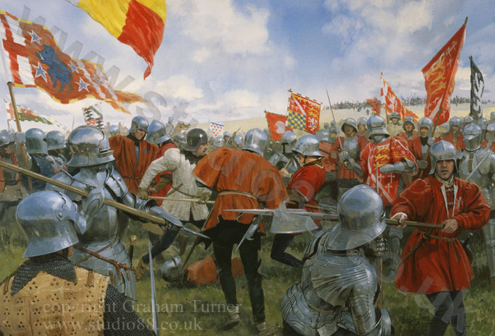 Studio 88 Limited The Battle of Bosworth - The Melee