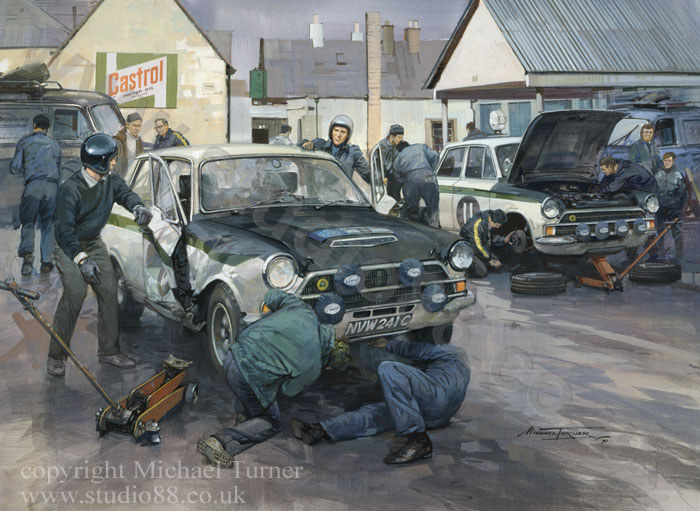 Studio 88 Limited 1966 RAC Rally