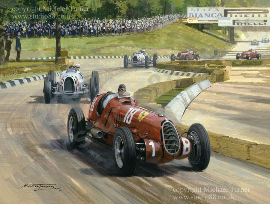 Studio 88 Limited 1936 Italian Grand Prix 20 Quot X 17