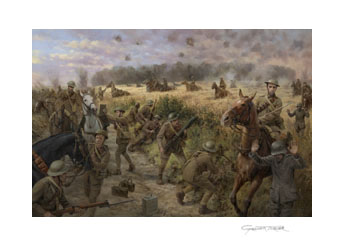 Charge at High Wood Prints