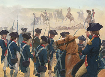 George Washington The Battle Of Monmouth And Yorktown